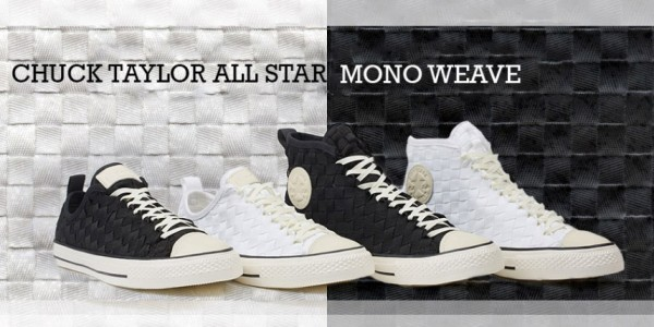 460f784df344 Converse Launches Chuck Taylor All Star Mono Weave Sneaker Collection In  Asia Pacific Region