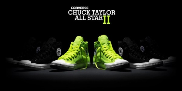 eb25b3834384 Converse Chuck Taylor All Star II Shows Its True Colors With Limited  Edition Volt Color