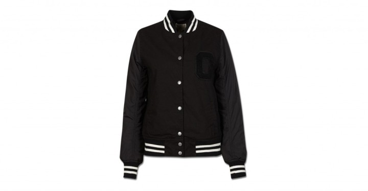 Womens Double Layer Baseball Jacket | Converse Singapore