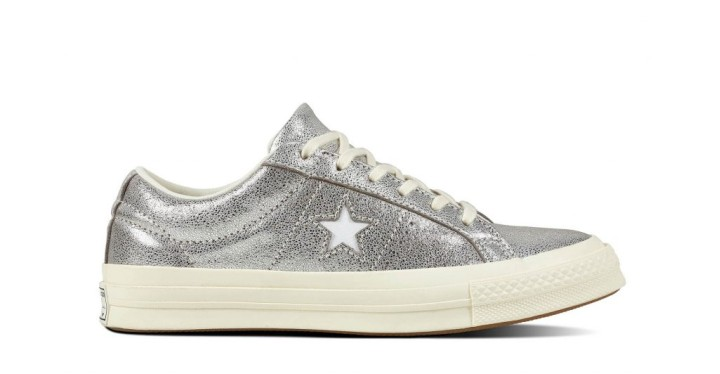991029c22a10 One Star Heavy Metallic Leather Low Top