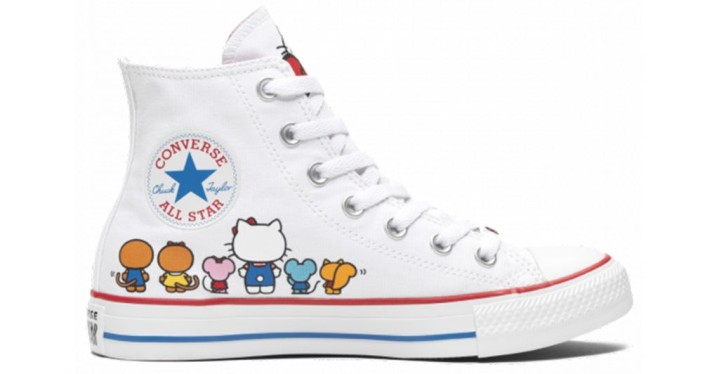 5682615f018c Converse x Hello Kitty Chuck Taylor All Star High Top