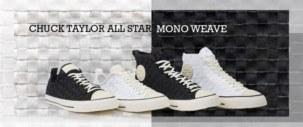 b129f0806957 Converse Launches Chuck Taylor All Star Mono Weave Sneaker Collection In  Asia Pacific Region