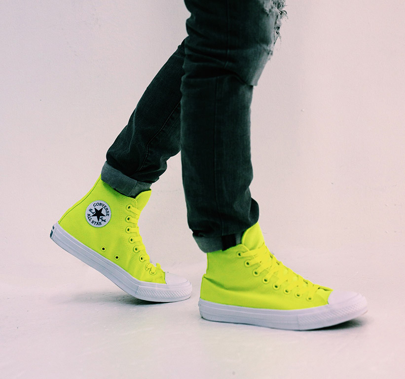 74f8c4102ef6 Converse Chuck Taylor All Star II Shows Its True Colors With Limited  Edition Volt Color