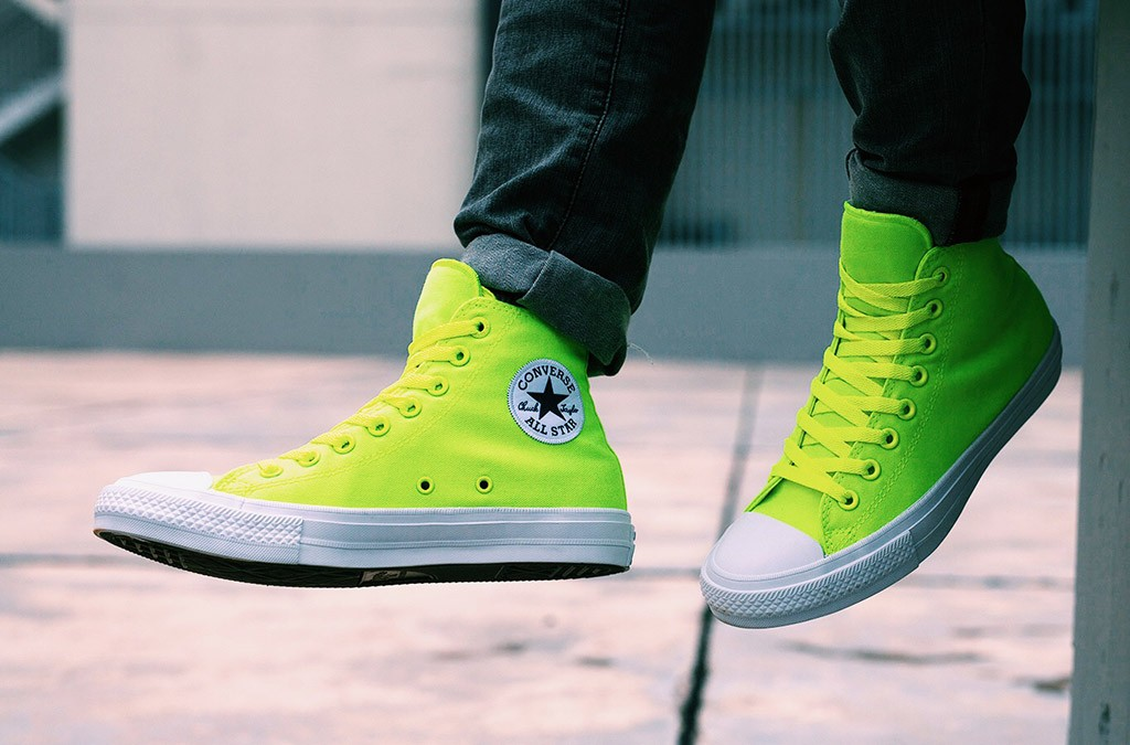 82f03f7e7937 Converse Chuck Taylor All Star II Shows Its True Colors With Limited  Edition Volt Color