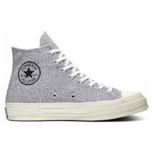 Chuck Taylor All Star '70 Recycled Canvas High Top Black Egret