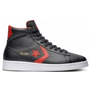 One Star Pro Leather Mid Top Black