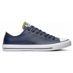 Chuck Taylor All Star Leather Low Top Obsidian