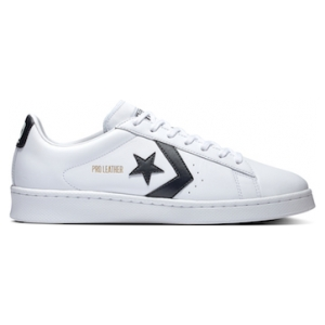 One Star Pro Leather Low Top Black