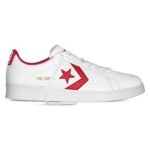 One Star Pro Leather Low Top University Red