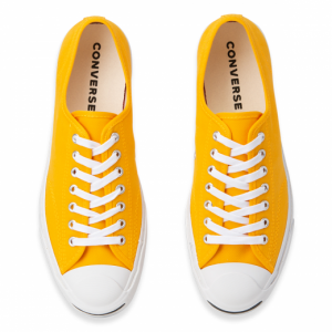 Jack Purcell Twill Low Top Laser Orange