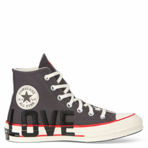 Chuck Taylor All Star '70 Love Fearlessly High Top Thunder Grey